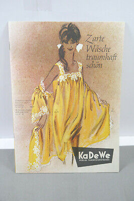 KaDeWe Berlin Age Catalog Vintage Laundry Underclothes Hachthemd 50/60er (MF19)