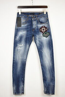 FRANKIE MORELLO LORENZINA DA VINCI GENIUS SKINNY FIT Men's W31 Jeans 38820_GS