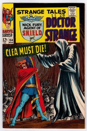 Strange Tales # 154 (1967) NM+