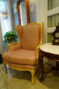 Bombay wing chair