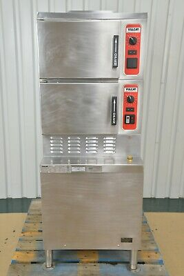 Vulcan C24ea6 Floor Series Electric Convection Steamer 6 Pan Capacity
