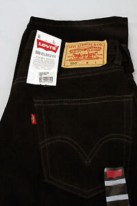 Men's Levis 550 Relaxed Fit Zip Fly Tapered Leg Black Jeans Size 32x36 NWT