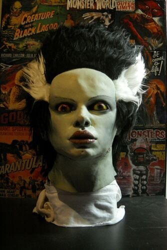 1991 Bride of Frankenstein Mask Universal Studios Illusive Concepts 22