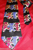 Grateful Dead Dancing Bears Tie