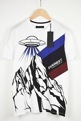 FRANKIE MORELLO TOD FMCF8233TS Men's LARGE Short Sleeve Everest T-Shirt 39016_ES