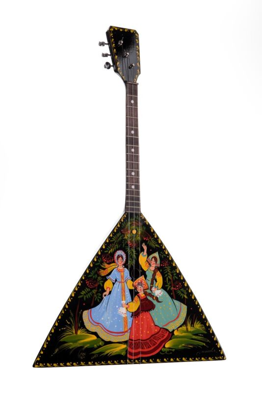 New Russian Souvenir Balalaika Doff