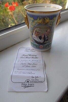 Sutherland Prince Edward Wedding Day Beaker Limited Edition 950 Lionhead 1999