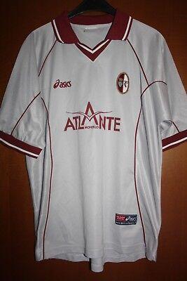 Maglia Shirt Trikot Maillot Torino Atlante Montello Asics Grigia '90 2000 image