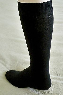Stock up Lot of 10-2 Packs (20 Pairs) Women's Wide Knee High Socks Black Sz 6-9