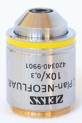 Zeiss Ec-plan Neofluar 10x0.3 - Objective M27 420340-9901 -excellent