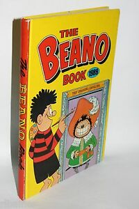 The-Beano-Annual-Book-1989-DC-Thompson-Comics-1988-R-L