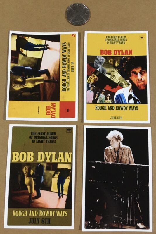 Bob Dylan Rough and Rowdy Ways stickers decals 2020