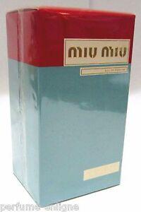 Miu Miu 3.4oz 100ml EDP Spray Sealed Women's Perfume *NOT A TESTER* NIB* 100%ORG
