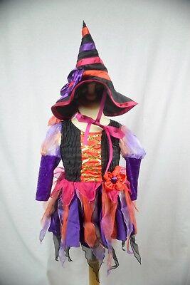 Die kleine Hexe komplettes Karnevalskostüm Fasching Halloween Kinder 18-24Monate ()
