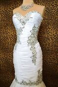 White Pageant Gown