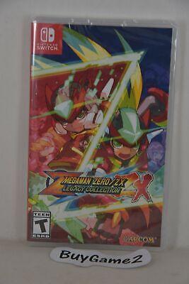 NEW NSW Switch Megaman Zero + Mega Man ZX Legacy Collection (US R1, English)