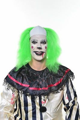 Halloween Scary Clowns Creepy Clowns Killer Clown Costume IT Wig Green 528 (Creepy Halloween Clowns)