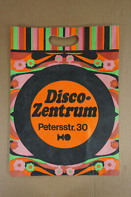 Tüte Tragetasche, HO Disco-Zentum Leipzig, Petersstr. 30 (Disco Tragen)