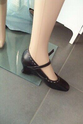 CHAUSSURES/ESCARPINS - chaussures cuir LUCA FERRI T 38 - TB état