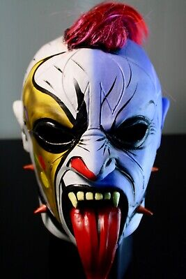 Wrestling Mask Psycho Clown THANOS AAA Halloween the best mexican fight gift toy](Best Clown Masks)