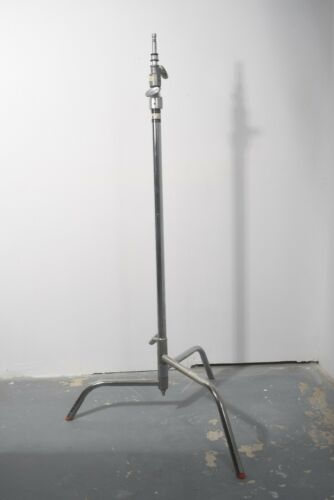 2 Mathews Studio 10 ft Heavy Duty Steel C- Light Stands Folding Tripod excellent