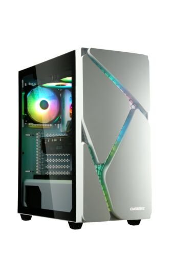 Enermax MARBLESHELL MS30 Mid-Tower ARGB PC Case - White