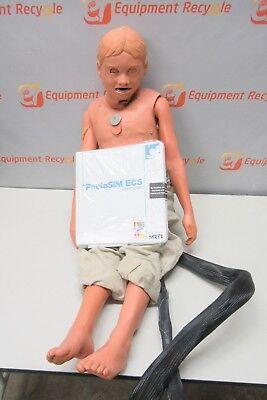 Meti Pediasim Pediatric Patient Simulator Manikin Control Box Cable Emt Child