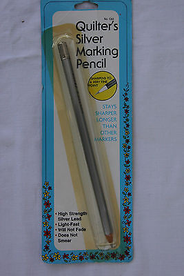 W.H. Collins New Quilters Silver Marking Pencil No. C83