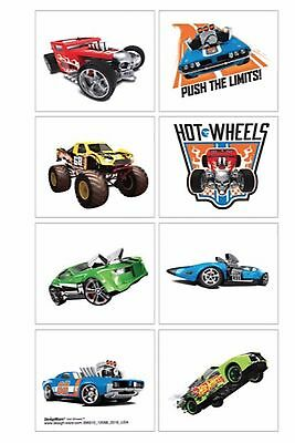 Hot Wheels Tattoos - Hot Wheels Birthday Party - Favours and Loot Ideas - Cars (Car Birthday Ideas)