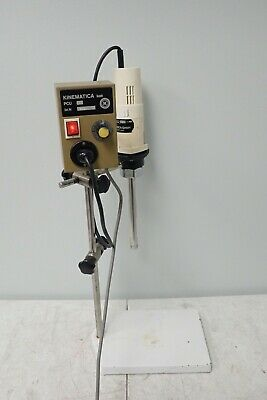 Brinkmann Polytron Kinematica Type Pt 1035 Homogenizer With Controller Stand