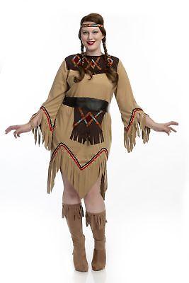SACAJAWEA INDIAN MAIDEN, CH52083-TAN-1X - Sacajawea Costume