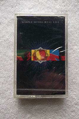 SIMPLE MINDS - Real Life - Cassette Tape A&M Chrome New Sealed - 1991 Rock Pop