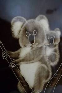 "Signed ""Lilo"" The Little Sydney Pottery koala wall plate Bendigo Bendigo City Preview"