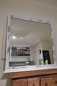 LARGE RUSTIC MIRROR Dee Why Manly Area Preview