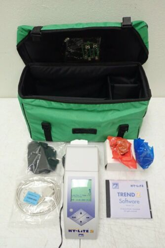 Merck HY-LiTE 2 Luminometer System with Power Supply, Software, Case & Extras