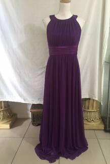 Mr K Purple Formal Style Dress Size 12 As New
