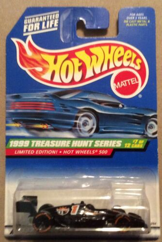 1999 Hot Wheels Treasure Hunt Hot Wheels 500 Limited Edition Rare # 7 Of 12 For Sale - 1