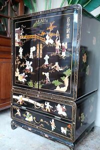 Asian Armoire/cabinet Wardrobe