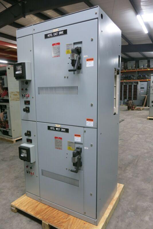 GE Limitamp Control Panel 200HP 2400V CR7160A117K Contactor IC302BA4AA3A312AA02E