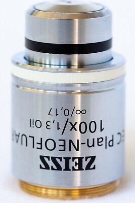 Zeiss Ec Plan-neofluar 100x13oil 0.17 M27 Microscope Objective 420490 Fair