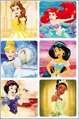 Princess Stickers x 6 - Disney Princess Party Bag & Loot Ideas Birthday Supplies](Disney Birthday Party Ideas)