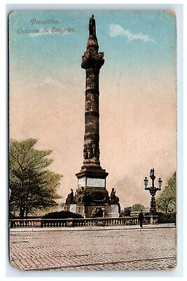 Postcard Bruxelles Coonne du Congress, Belgium Brussels dated 01/29/1919 D21