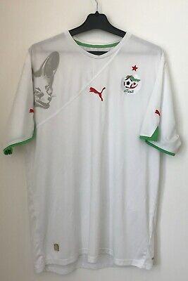 Algeria Home football shirt 2010 World Cup Jersey Puma size XL image