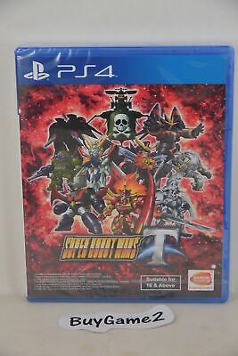 NEW PS4 Super Robot War Wars Taisen T (Asian ENGLISH version)