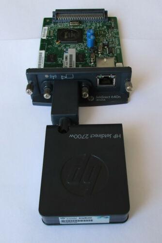 HP JetDirect 695nw EIO 10/100/1000 Ethernet-WIFI 802.11b/g/n Print Server J8024a