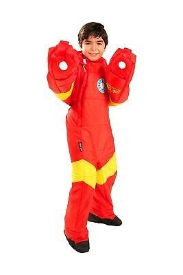 Selk Bag Sleeping Bag Iron Man Kids L New.
