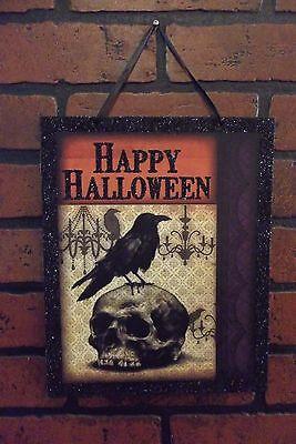 Spooky Wooden Signs! Creepy Halloween Decor! 5 Different Signs! - Spooky Halloween Decor