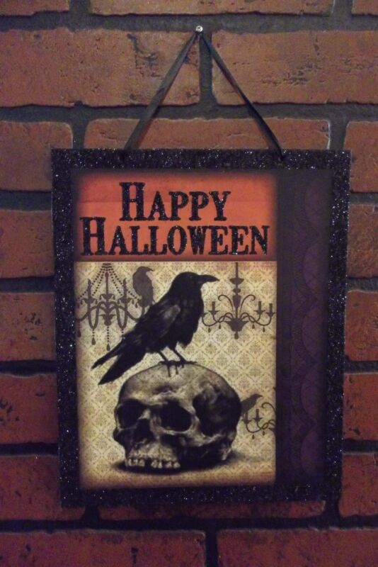 Spooky Wooden Signs! Creepy Halloween Decor! 3 Different Designs! NEW!