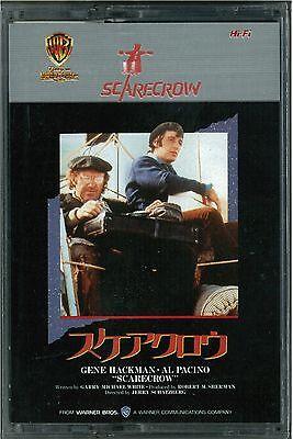 SCARECROW: Gene Hackman - Japanese original 8mm Video TAPE RARE