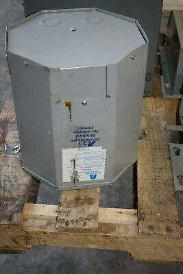 Acme 10 Kva Transformer 480v D 208y120v 3r Encapsulated